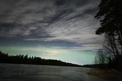 Auroras, or airglow