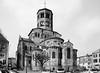 Romanico in Alvernia: Saint-Saturnin, Basilica di Notre Dame (fabrizio_buoso) Tags: eglise biancoenero bw monocromo
