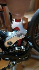 QX100 derailer hanger H6 (gunnsteinlye) Tags: recumbent bicycle cruzbike quest skien norway