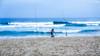 63+155: Between the lines (geemuses) Tags: manly manlybeach queenscliff queenscliffbeach dusk sunset beach water sea ocean nsw australia northernbeaches surf sand fishing beachvolleyball fishermen walkers exercise