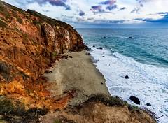 Point Dume at Sunset ((Jessica)) Tags: pointdume malibu california malibuca sunset beach cove rocks ocean water landscape sony sonya6000 sonyalpha rokinon rokinon12mm wideangle