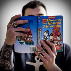 Dear mom, i found the book you gave me 24 years ago. (I still want to become a pirate) [explored] (All Chefs Are Bastards) Tags: disney junior woodchucks giovani marmotte pirate