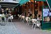 Hoorn 2016 – Furry chairs (Michiel2005) Tags: stoel fur bont cafe café terras terrace hoorn nederland netherlands holland westfriesland noordholland
