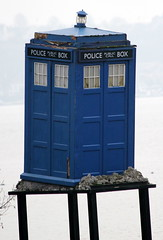 IMG_3876a (Time Grabber) Tags: timegrabber cardiffbay southwales freshwaterbay thetardis drwho timeandrelativedimensioninspace