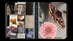 Scrapbook-2 double-page 21 (Esther Martnez Rey) Tags: collage cutout magazine scrapbook paper notebook photography photo glue diary journal moda revistas cine page papier prensa diario carnet cuaderno recortar cahier coller doublepage dcouper