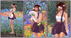 240 - [F]uchOn reopened mainstore (Sannita_Cortes) Tags: flower fashion female design sl secondlife virtual bouquet terra ikon diva poses props virtualworld illi maitreya slink fuchon virtualfashion