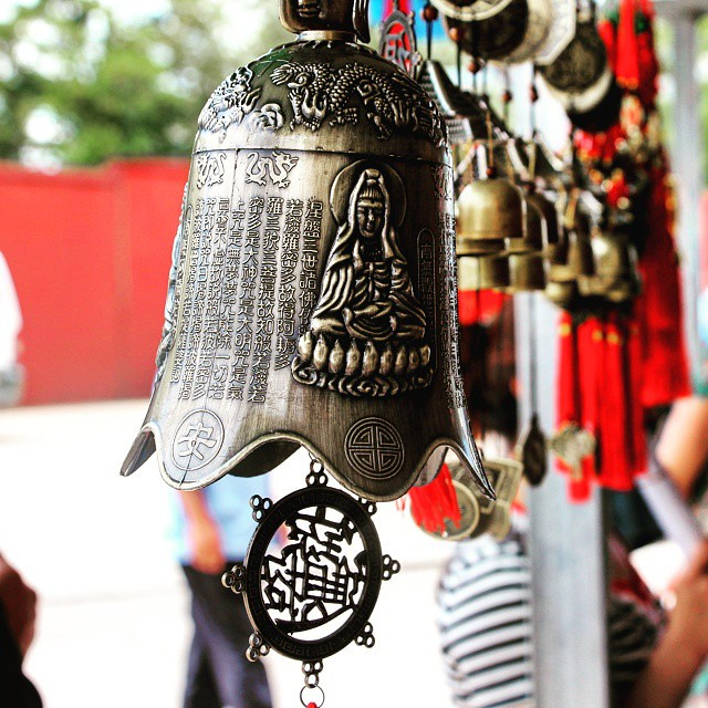 Chinese Bell with spiritual messages, not so #BabaJiKaGhanta!
