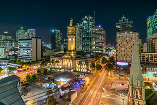 King George Square View, Brisbane