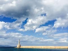 . Fyrtrnet i Hania, Kreta. Lighthouse in Chania, Crete. (janeric2014) Tags: lighthouse greece crete chania