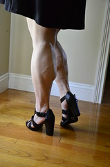 _DSC0062jj (ARDENT PHOTOGRAPHER) Tags: woman female highheels muscular veins calves flexing veiny muscularwoman