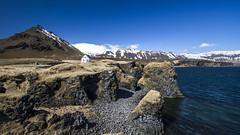 Spring In Iceland (Julien Ratel ( Jll Jnsson )) Tags: house nature canon iceland spring awakening may cliffs mai destination popular wandering sland islande arnarstapi snaefellsnes canon1022 eos7d blueju38 julienratel julienratelphotography blueju destinationislande