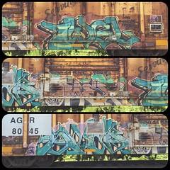 Twel Omex Swab (MC. Squared) Tags: graffiti freight sluts swab omex twel