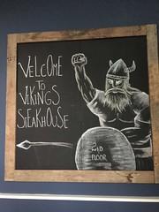Viking Steakhouse (sfPhotocraft) Tags: ireland dublin sign viking blackboard steakhouse 2015 2ndfloor vikingsteakhouse