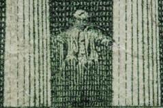 DSC_1763A-Lincoln-On-A-Five-Dollar-Bill-(900) (PryanksterDave (Dave Price)) Tags: money macro 2015 macrobellows strobist macromonday lightingessentials
