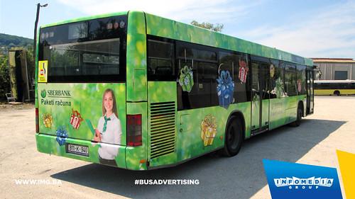 Info Media Group - Sberbank AD, BUS Outdoor Advertising, Banja Luka 07-2015 (2)