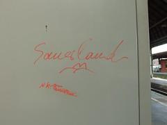 Sauerland (mkorsakov) Tags: graffiti bahnhof wtf tagging hbf hagen sauerland kritzeln
