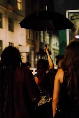 (lydia_mantler) Tags: vienna wien street party portrait people night umbrella fuji bokeh leader xt10 fujixt10