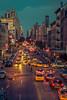 Midnight in Chelsea (Martín Marilungo) Tags: street newyorkcity urban usa newyork night calle chelsea nightshot unitedstates manhattan streetphotography highline taxicabs paisajeurbano
