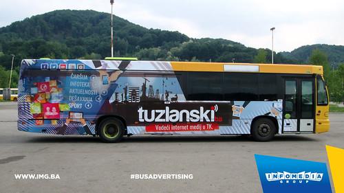 Info Media Group - Tuzlanski.ba, BUS Outdoor Advertising, Tuzla 05-2015 (5)
