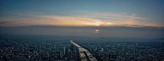 Paris Eiffel Tower Pano 1 Resized (Robyn Aldridge) Tags: sunset panorama paris france tower landscape eiffel pe on1 lr6 canon450d pscc