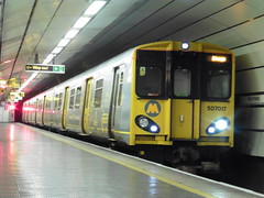 Merseyrail 507017 (North West Transport Photos) Tags: train liverpool underground br loop emu pep unit 507 moorfields 508 brel merseyrail 507017 mpte merseyrailelectrics