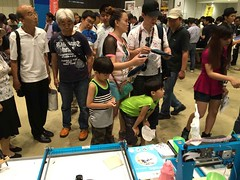 Makeblock at Maker Faire Tokyo 2015 (unataoyj) Tags: drawbot drawingtools makeblock mdrawbot