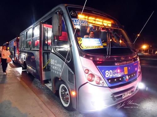 → 80 Las Galaxias Neobus Thunder // Mercedes Benz LO 915