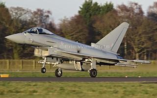 ZK351  TYPHOON  RAF