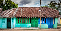 Traditional house, India (Mumbai Lensman) Tags: countryside hut villagehome home india tiles tiledroof colourful tamil rural southindia tamilnadu traditional