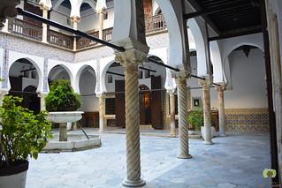 « Wast Eddar », le patio du palais Mustapha Pacha