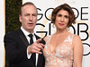 Bob Odenkirk (L) and his wife Naomi Odenkirk arrive at the 74th annual Golden Globe Awards, January 8, 2017, at the Beverly Hilton Hotel in Beverly Hills, California. (Photo VALERIE MACON/AFP/Getty Images)