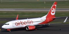 Boeing 737-76J D-ABLC (707-348C) Tags: dusseldorf eddl dus boeing airliner jetliner passenger airberlin boeing737 ber b737 dablc