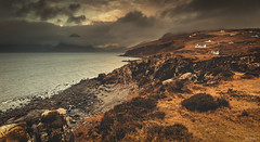Watching Over The Water (Iain Brooks) Tags: skye scotland uk cuillin mountains nikon d610 20 18g landscape seascape storm loch elgol long exposure island highlands coast