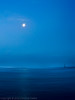 Bracklesham blue (Caroline Oades) Tags: brackleshambay westsussex england uk blue moon reflection groyne beach strand coastline coast sea seaside ocean 351366 16122016 slowshutterspeed longexposure