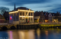 Het Franekereind in Harlingen op vrijdag 23 december 2016 (sidneyportier) Tags: sigma1750mm