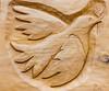 Envol (flight) (Larch) Tags: bois wood sculpture oiseau bird colombe artisanat crafts saintours aoste italie italia italy envol flight carving dove
