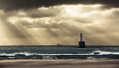 Rattray Light (Grant Morris) Tags: rattraylighthouse rattraypoint lighthouse seaside seascape sea seashore waves breakingwaves beach waterscape waterfront coast eastcoast clouds scotland grantmorris grantmorrisphotography canon 5d3