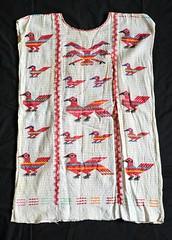 Chinantec Huipil Oaxaca Mexico (Teyacapan) Tags: weavings tejidos textiles chinantec oaxacan mexican clothing ropa trajes tlacoazintepec birds