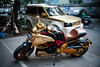 Over the top @ Hanoi (PaulHoo) Tags: hanoi vietnam ducati mercedes gold 2016 asia wealth rich expensive transport car motorcycle vignette city urban decadent exclusive