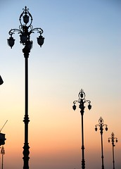 Trieste - A DeLIGHTful City That Never Keeps You in the Dark! (antonychammond) Tags: trieste italy northeasternitaly streetlights dusk friuliveneziagiuliaandtriesteprovince habsburgmonarchy austrohungarianempire silhouettes anticando saariysqualitypictures contactgroups