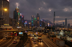 """""""a new year, a new day, a new dusk"""" (hugo poon - one day in my life) Tags: xt2 23mmf2 hongkong causewaybay causewaybaytyphoonshelter reclamation gloucesterroad newyear colours lights dusk sunday winter centralplaza ifc sky skyline skyscrapers city waterfront constructioncity hkconventionexhibitioncentre islandeasterncorridorlink festive architecture"""