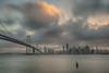 City of San Francisco (FollowingNature) Tags: baybridge sanfrancisco treasureisland followingnature sunset