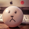 7/365 Happy Sad (Cathy G) Tags: oxford england unitedkingdom gb stressball simon happyface sadface happysad iphone iphone6s squareformat iphoneography 3652017 365