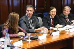 Alícia Sánchez-Camacho, Xavier García Albiol y Rafael Hernando