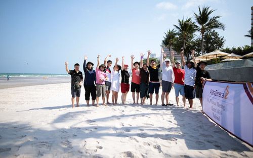 Team building  InterContinental hotel Hua Hin beach