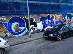 'CRUEL' by AROE (Brighton Rocks) Tags: brighton graffiti cruel aroe