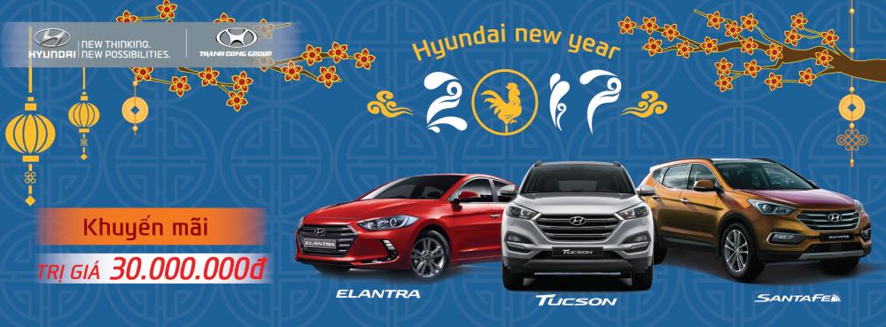 Hyundai Thành Công hỗ trợ 30 triệu cho khách hàng mua xe cuối năm Ngày đăng : 06:44:02 20-01-2017