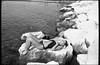 (Wondrous to See... Glorious to Hear) (Robbie McIntosh) Tags: leicam2 leica m2 rangefinder streetphotography 35mm film pellicola analog analogue negative leicam summilux analogico leicasummilux35mmf14i blackandwhite bw biancoenero bn monochrome argentique summilux35mmf14i autaut dyi selfdeveloped filmisnotdead strangers candid arsimagofd arsimagofddeveloper fomapan100 fomapan onthebeach bathers shoreline beach sand girl woman lidomappatella mappatellabeach