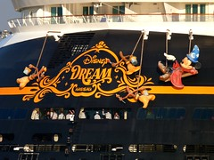 Port Canaveral, FL (Rusty Clark) Tags: sorcerers apprentice mickey mouse brooms stern