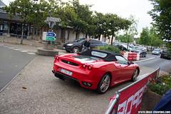24h du Mans 2013 - Ferrari F430 Spider (Deux-Chevrons.com) Tags: ferrarif430spider ferrari430spider ferrarif430 ferrari430 ferrari f430 430 spider street spot spotted spotting croisée rue france arnage lemans 24hdumans 24hoflemans 24heuresdumans car coche voiture auto automotive automobile